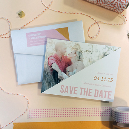 Triangle Save the Date