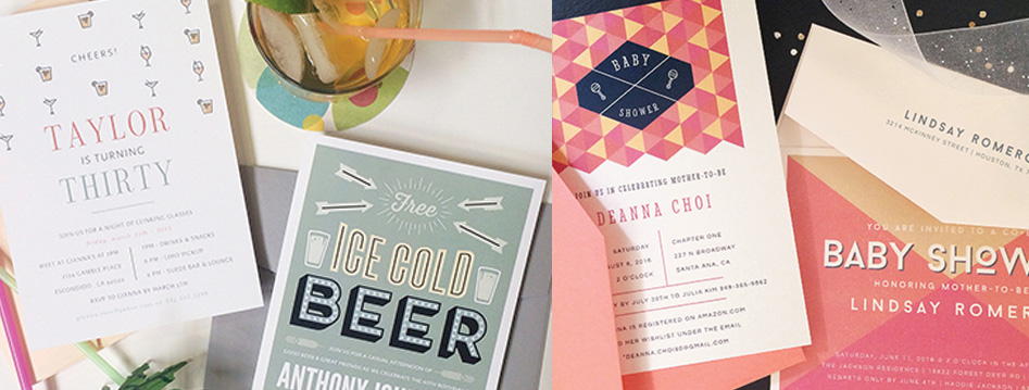 BBQ, Beer, Birthday Invitation, Bridal Shower Invitation